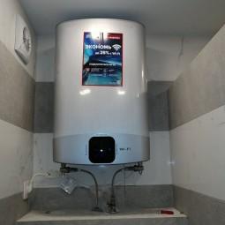 Пример монтажа Ariston ABS Velis Evo Power 30 2