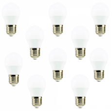 Комплект лампочок Biom LED матова (10 ШТУК)
