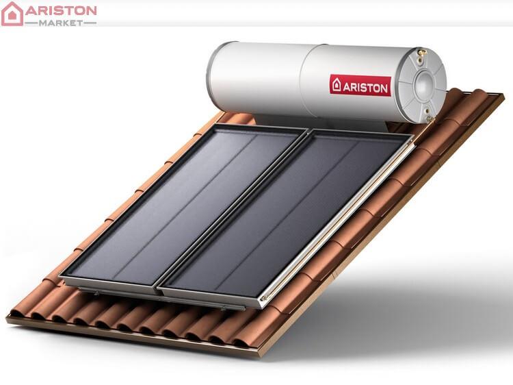 солнечные водонагреватели компании ariston