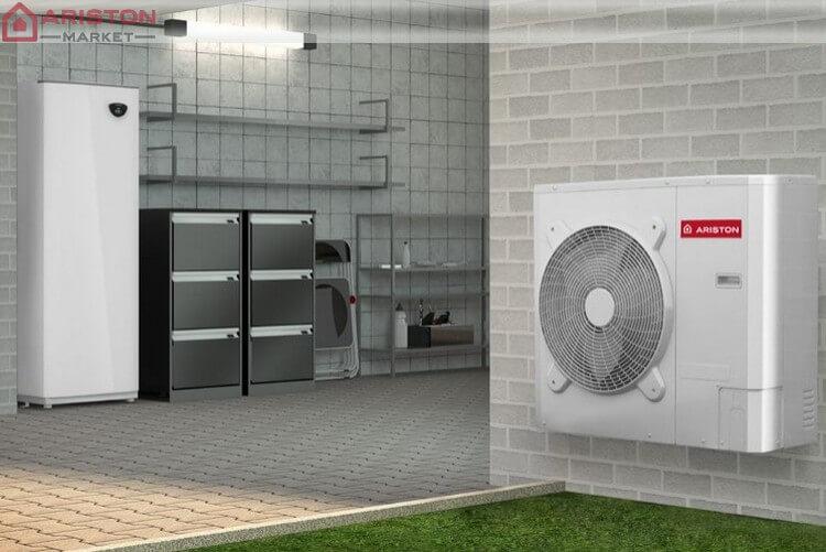тепловые насосы-водонагреватели ariston